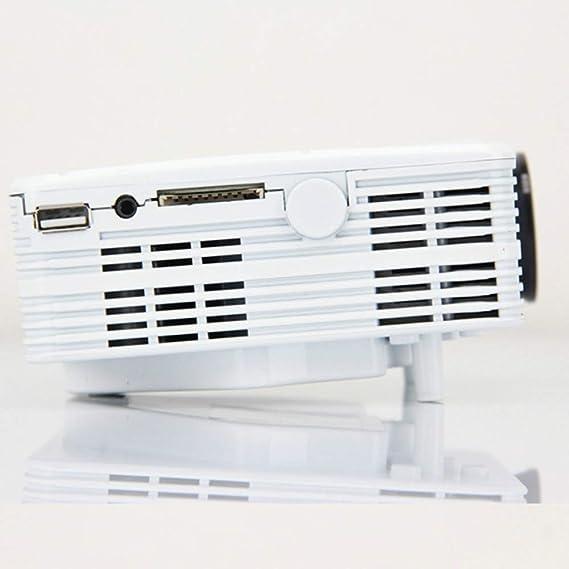 HD 1080P, mini proyector portátil para casa, máquina de ...