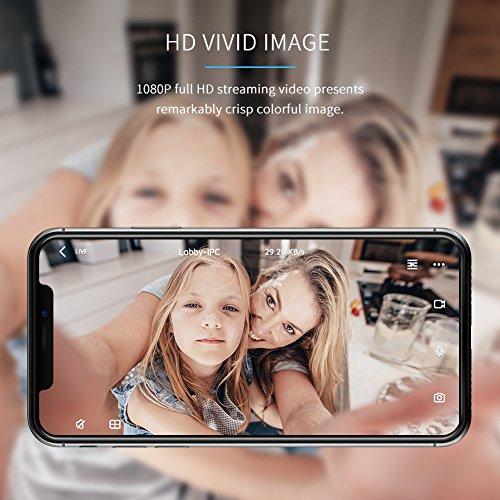 APEMAN WiFi Camera 1080P IP Wireless Surveillance Home Security Camera Cloud Service 2-way Audio Night Vision CCTV Cam Motion Detection by APEMAN (Image #1)