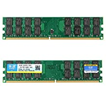 Memory Ram - Xiede 2x4GB DDR2 800Mhz PC2-6400 240 Pin Desktop Memory RAM AMD Chips