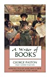A Writer of Books, George Paston, 0897334655