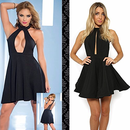 Kleid mit riesen ausschnitt