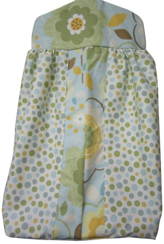 Baby Doll Bedding Botanic Garden Diaper Stacker, - Stacker Garden Diaper