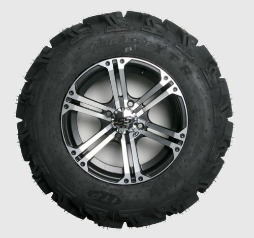 Ss212 Tire Wheel Kit - ITP Mud Lite XTR, SS212, Tire/Wheel Kit - 27x9Rx14 - Machined 43181R