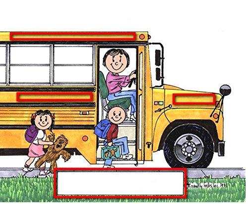 School Bus Driver - FemalePersonalized Friendly Folks Mail - File Sorter
