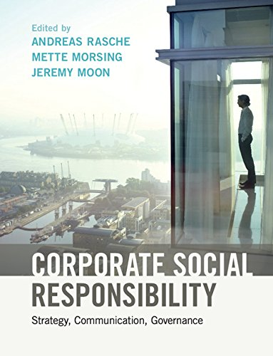 Corporate Social Responsibility: Strategy, Communication, Governance