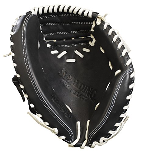 Spalding Catchers Training Mitt, Black, 27'