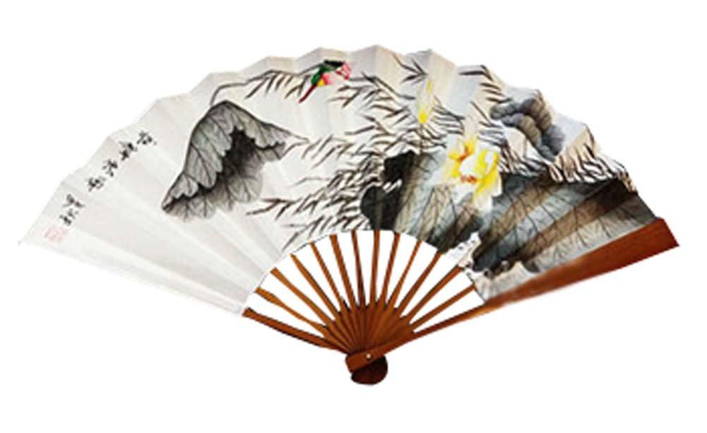Panda Superstore Held Fans Hand Fans Hand Hand Held Fan Chinese Fan Folding Fan