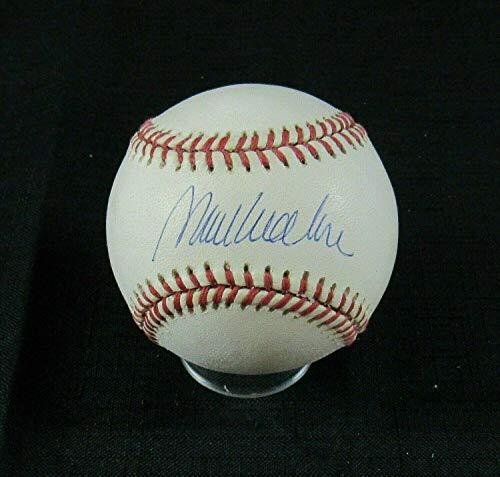 Mark Wohlers Autographed Baseball - Rawlings 1995 World Series B120 V - Autographed Baseballs