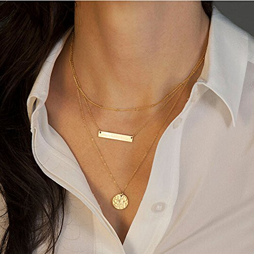 Aukmla 2016 Chic Stick Style Necklace Jewelry for Women and Girls