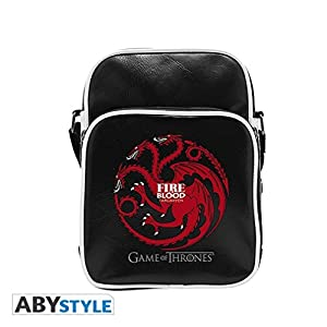 GAME OF THRONES - Vinyl Messenger Bag Targaryen - Small Size by Abystyle