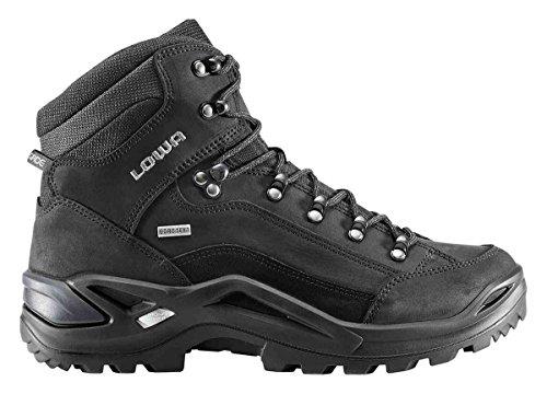 Lowa Renegade GTX Mid (310945-4285) - Scarponcini da trekking, nero (nero), 48.5 EU