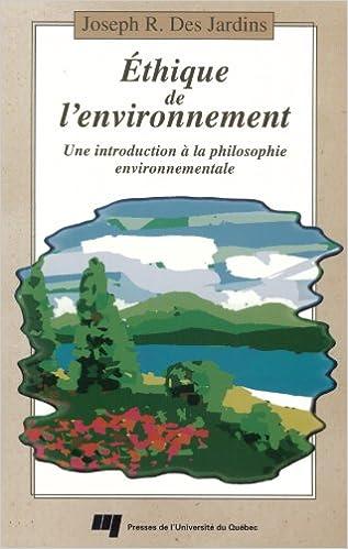 Livre Ethique de l'environnement : une introduction à la philosophie environnementale epub pdf