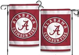 WinCraft NCAA University of Alabama Crimson Tide 12x18 2-sided Garden Flag