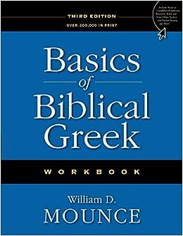 Book Basics of Biblical Greek