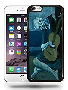 Pablo Picasso Art Painting Artwork The Sad Guitarist Phone Case Cover Designs for iPhone 6