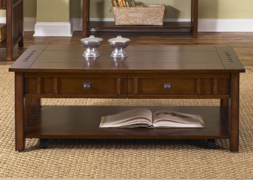 Prairie Hills Coffee Table Liberty Furniture Cherry End Table