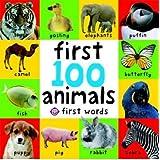 Big Board First 100 Animals (First Words)