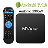 Android TV Box, Globmall 2018 Model MXQ Pro Android 7.1.2 TV Box with Amlogic S905W 1GB/8GB, Wifi/H.265 /4K Playing [Upgrade Version]