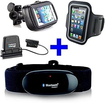 Cinturón pectoral con bluetooth 4.0 + Speed Cadence Bluetooth + ...