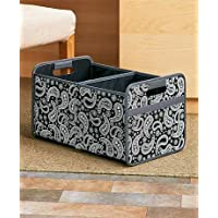 Collapsible File Organizers (Paisley Double)