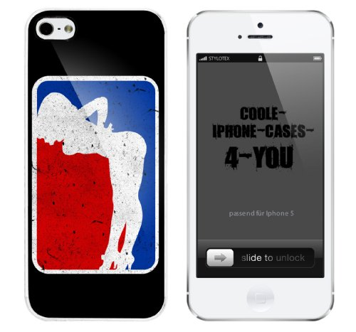 Iphone 5 Case Ass Up Rahmen weiss