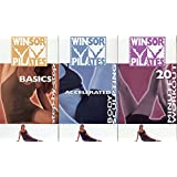 Winsor Pilates Basic  Set: Basics Step-by-Step + Accelerated Body Sculpting + 20 Minute Workout