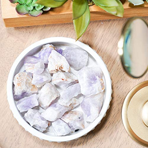 home, kitchen, home décor, indoor fountains, accessories, indoor fountain accessories,  indoor fountain stones, sea glass 1 picture Crystal Allies 1 Pound Bulk Rough Amethyst Reiki in USA