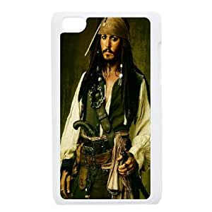 DDOUGS Pirates of the Caribbean Personalized Cell Phone Case for Ipod Touch 4, Best Pirates of the Caribbean Case