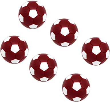 perfeclan 6X Mini Pelotas Fútbol 32mm de Plástico de Tabla ...