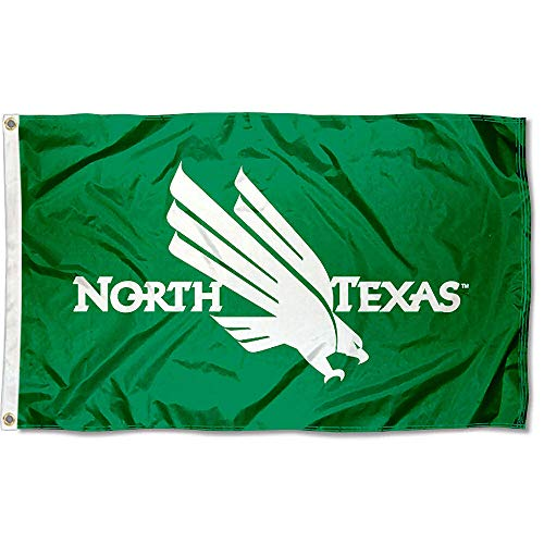 North Texas Mean Green Eagles University Large College Flag (Unt Flag)