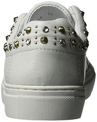 velluto Delle Donne Scarpa top Da Ginnastica Biz Scarpe Elastiche Scatolata Suola A Bianco Bianco Bassa x8zgO4fq