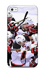 YeemvCx4992DMRaw Tpu Phone Case With Fashionable Look For ipod touch4 - New Jersey Devils (59)