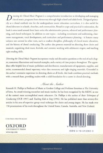 Directing the Choral Music Program by Oxford University Press