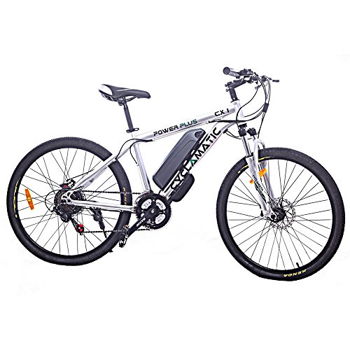 Lowest Prices! Cyclamatic Power Plus CX1 Electric Mountain Bike with Lithium-Ion Battery