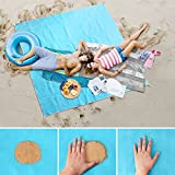 #9: FRiEQ Sand Free Beach Mat/Outdoor Blanket, Compact and Lightweight with Large Size 79