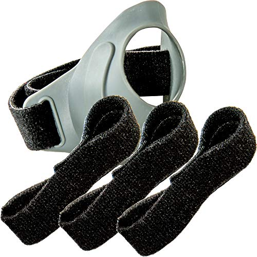CMCcare Thumb Brace – Replacement Straps Black Pack of 3 by Basko Healthcare (Image #2)