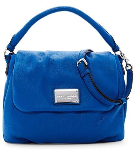 Marc Jacobs Classic Leather Shoulder Bag (Salton Sea)