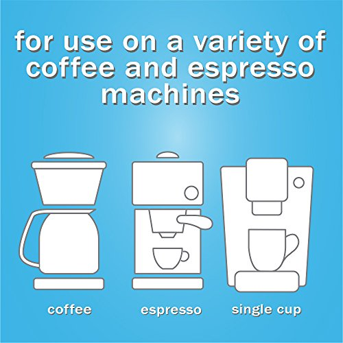 Urnex Full Circle Coffee and Espresso Descaler 4 Ounce (2 Single Use Bottles) Safe on Keurig Delonghi Nespresso Ninja Hamilton Beach Mr Coffee Braun