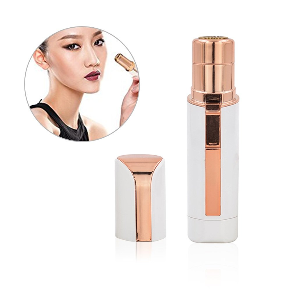 Facial Hair Removal,Waterproof Hair Remover On The Upper Lip, Chin, Face, Cheeks, Light Hair Removal for Women with Free Bonus - a Mirror and a Clean Brush
