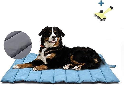 XIAPIA Cama Perro Impermeable Colchoneta,Almohada Relajante Perro Colchón Perros Viscoelastica Cojines Lavable Impermeable para Perros Medianos,Grande: Amazon.es: Productos para mascotas