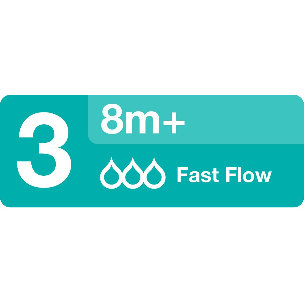 Evenflo 2114921 Evenflo Classic Fast Flow Silicone Nipples 4-Pack