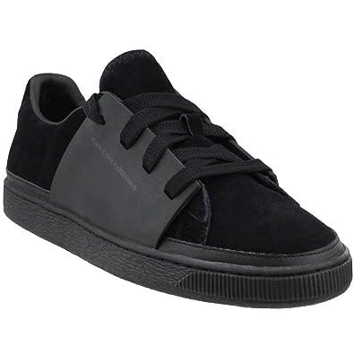 sports shoes b66e8 1d67b Amazon.com | PUMA x HAN Kjøbenhavn Men's Suede Black/Suede ...