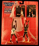 WILT CHAMBERLAIN / SAN FRANCISCO WARRIORS & BILL RUSSELL / BOSTON CELTICS 1997 NBA Classic Doubles Kenner Starting Lineup Sports Superstar Collectibles & Exclusive NBA Trading Cards