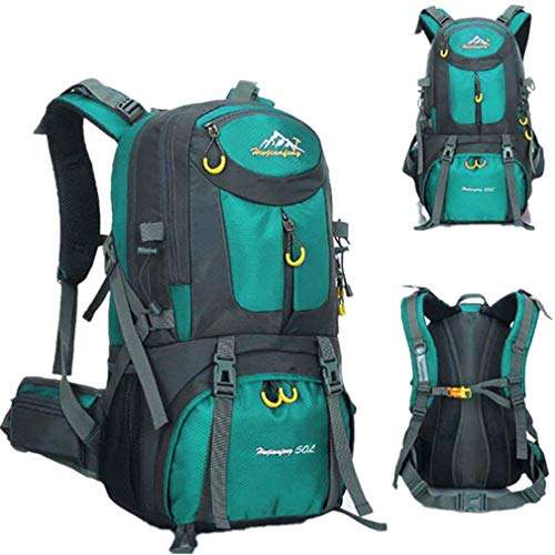 1eb5501b59e0 COUTUDI Outdoor Climbing Backpack Ultra Lightweight Durable Daypack /  Waterproof Nylon Biking Bag For Men and Women Travel Hiking Backpack (Blue)