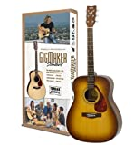Yamaha Gigmaker Standard Acoustic Guitar w/ Gig Bag, Tuner, Instructional DVD, Strap, Strings, and Picks - Sunburst
