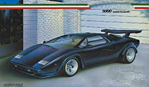 1/24 Enthusiast Model Series No.14 Countach 5000 Quattro Bar Bohle (Japan import / The package and the manual are written in Japanese) by Fujimi Model