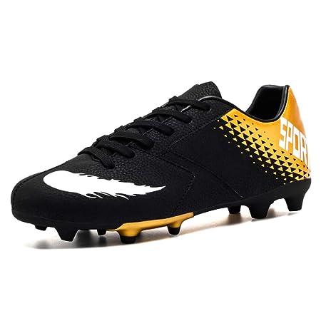 GXTING Scarpe da Calcio da Uomo, Scarpe da Calcio da Calcio per Ragazzo Scarpe Basse da Ginnastica Sneakers Professionali Scarpe da