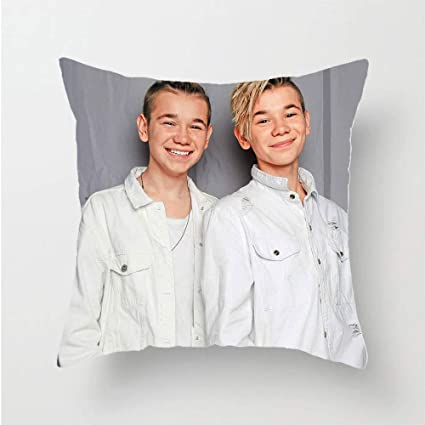 MR.YATCLS Marcus /& Martinus 3D Printed Double Sided Pillowcases no Pillows A Must for Fans