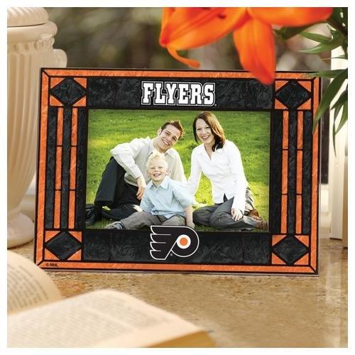 Picture Nhl Horizontal Frame (NHL Philadelphia Flyers Art-Glass Horizontal Picture Frame)