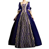ROLECOS Womens Gothic Victorian Fancy Dress Full Length Maxi Dresses Renaissance Princess Costume  Specifications Fabric: 100% Polyester, Satin lining, soft tulle, lace Neckline: Scoop Neck Back Design: Lace Up Hemline: Floor Length Silhouette: Ball ...